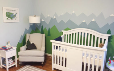 Oh Baby!…. Adorable Nursery Accent Walls