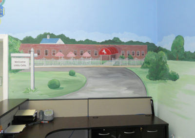 Mural for Congressional Schools in Falls Church, VA